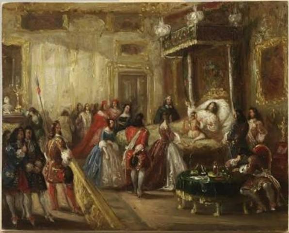 Muere Luis XIV