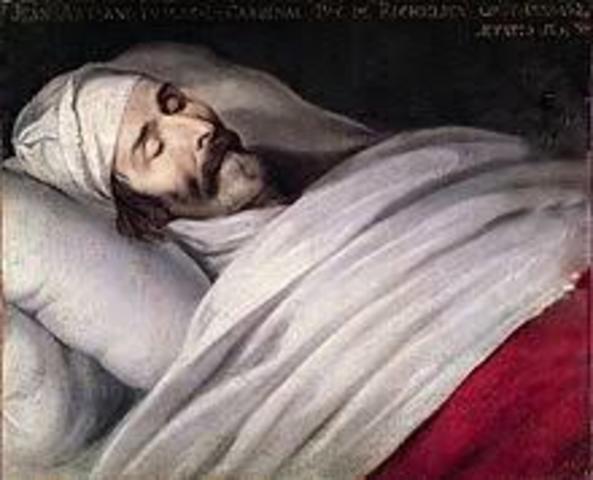 Muere Richelieu