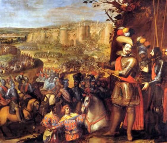 Los habitantes de Bohemia se revelan contra el rey Felipe II