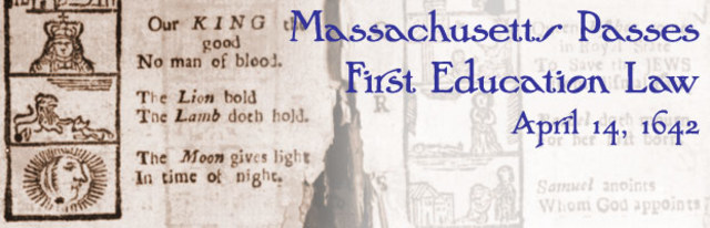 Massachusetts Passes First Education Law in America