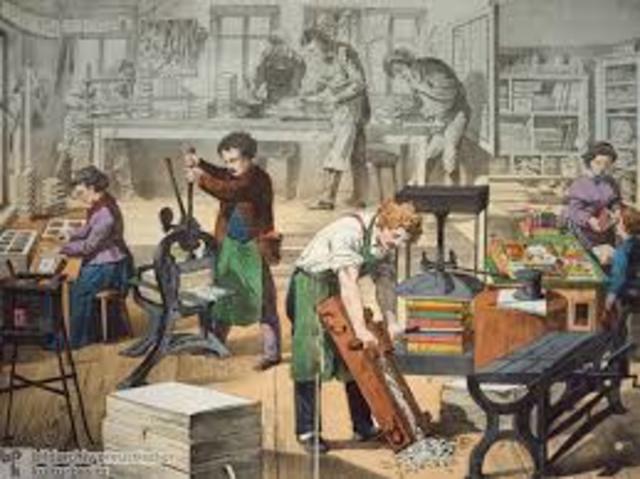 Creación de gremios de artesanos