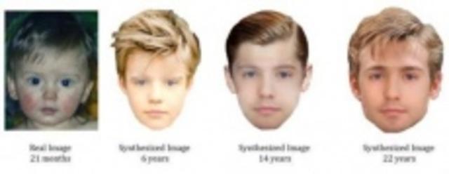 Nueva técnica forense informática para conocer el aspecto que tendrán a más edad niños muy pequeños