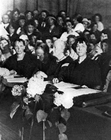 Primer Congreso para la Mujer