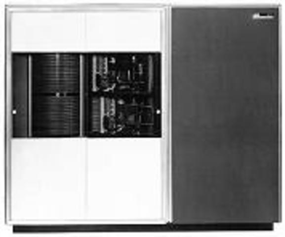 Disco duro modelo IBM 1301