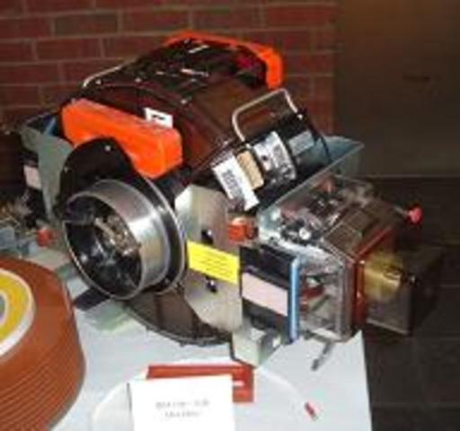 Disco duro IBM 3380 fue