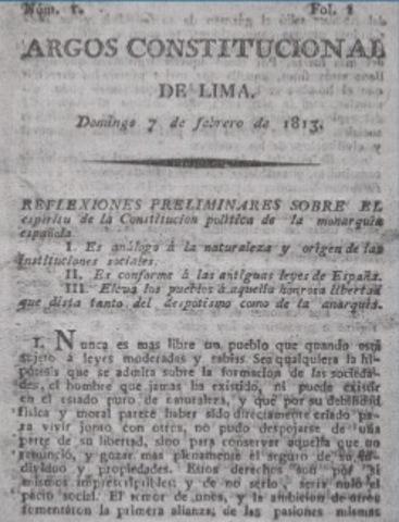 Resultado de imagen para el argos constitucional de lima