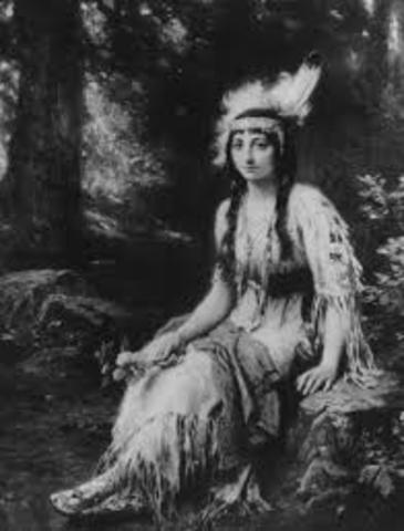 The Marriage of Pocahontas and John Rolfe