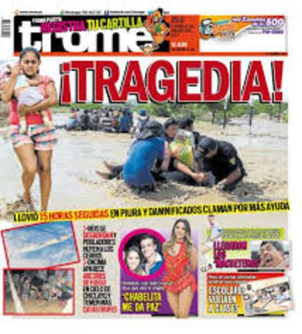 Prensa Escrita A Lo Largo De La Historia Del Perú Timeline