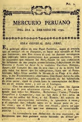 Resultado de imagen para La de 1973, de título Sui generis, aparece gracias a la iniciativa del editor impresor de origen español Guillermo del Río con la intención de hacer resurgir la antigua gaceta de Lima, sin embargo, su existencia fue solo de tres meses. La segunda Gazeta de Lima aparece en 1798, siendo la última publicación del siglo XVII cuya duración se extendió hasta 1804. Aunque no tuvo la misma trascendencia periodística que la primera.