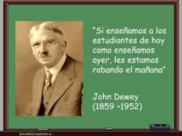 Jhon Dewey (1859 – 1952)