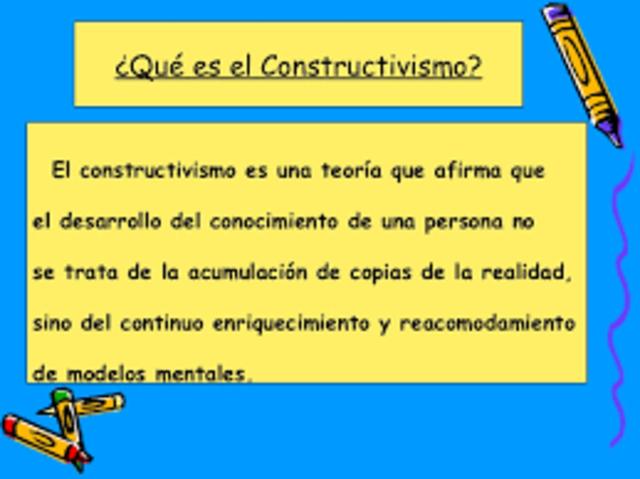 Constructivismo, siglo XX