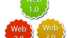 Línea del tiempo de la evolución de la web 1.0, 2.0 Y 3.0. timeline