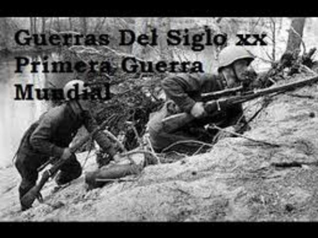 En el siglo XX desde la Primera Guerra Mundial