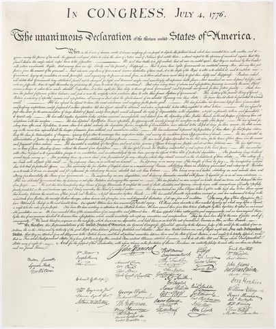 Module 2: Declaration of Independence