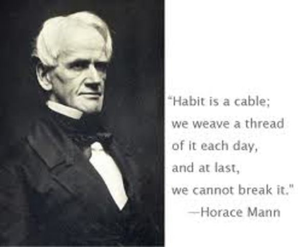 horace manns education Horace mann was an american reformer of education who lived from 1796-1859 he is often called the 'father of the common school movement,' which was a movement devoted to creating a more equitable.