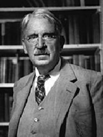 John Dewey publishes Democracy and Education in 1916