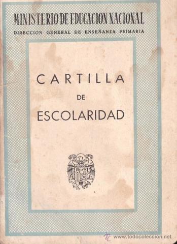 CARTILLA DE ENSEÑANZA