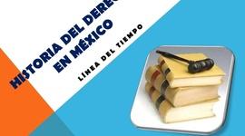 historia del derecho en mexico timeline