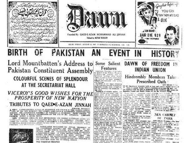 Pakistan is created