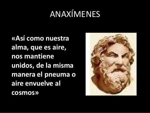 Anaxímenes (585 – 528 A.C)