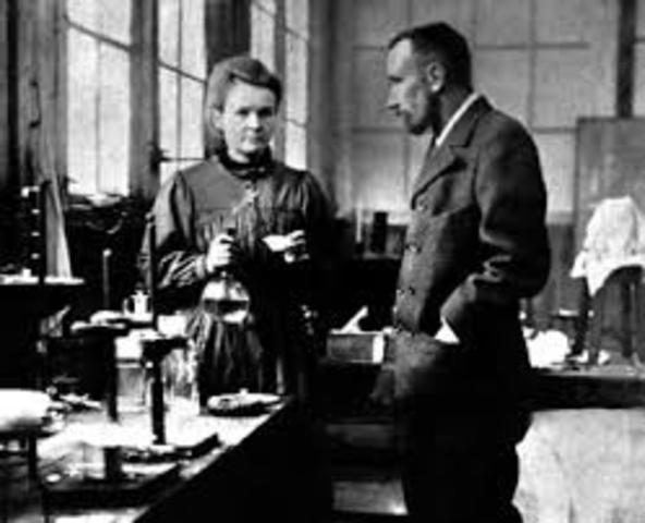 Marie Curie  y Henri Becquerel