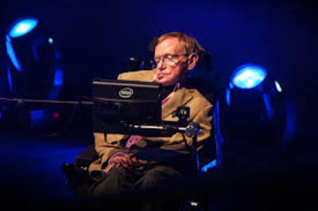Stephen Hawking. (1942) edad 75 años