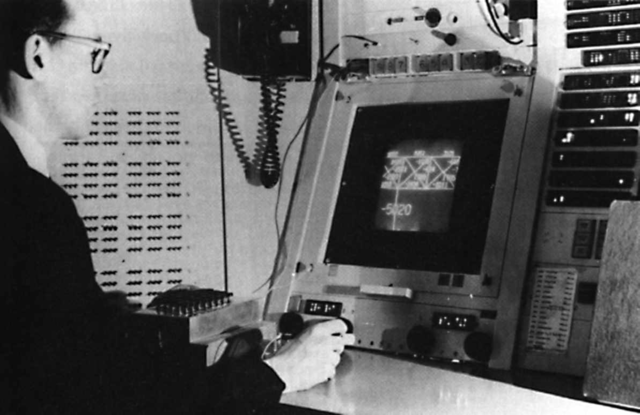 1962. Iván Sutherland desarrollo sketchpad el cual es conocido como gráfico interactivo.
