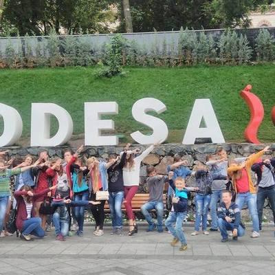 """Summer Camp 2017 in 'Chaika"""", Odessa timeline"""