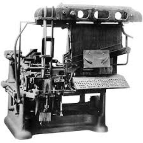 Movable Type Machine