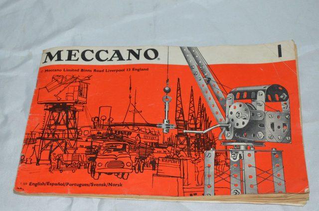 Primer Acercamiento - juego Meccano