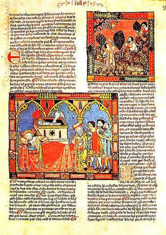 Libros conservados en los monasterios