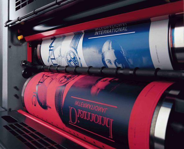Siglo XX, Revolución Imprenta