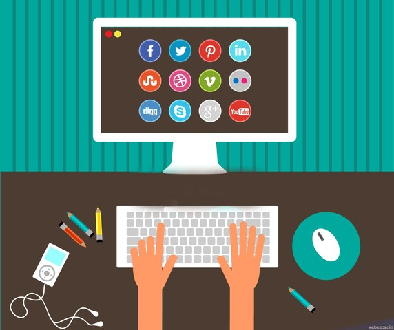 Redes Sociales - Diseño editorial