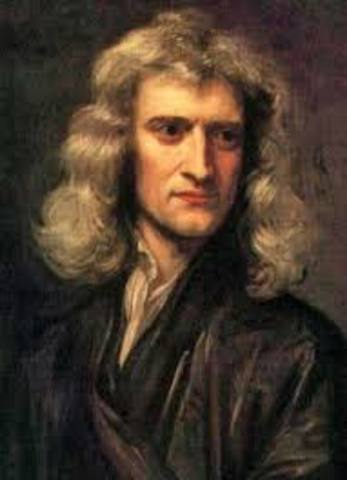 Isaac Newton establishes the theory of gravity and the laws of motion