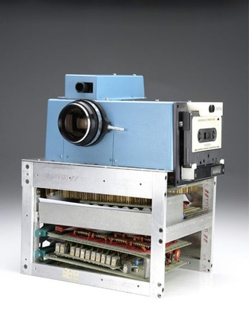 Primera cámara digital Kodak.