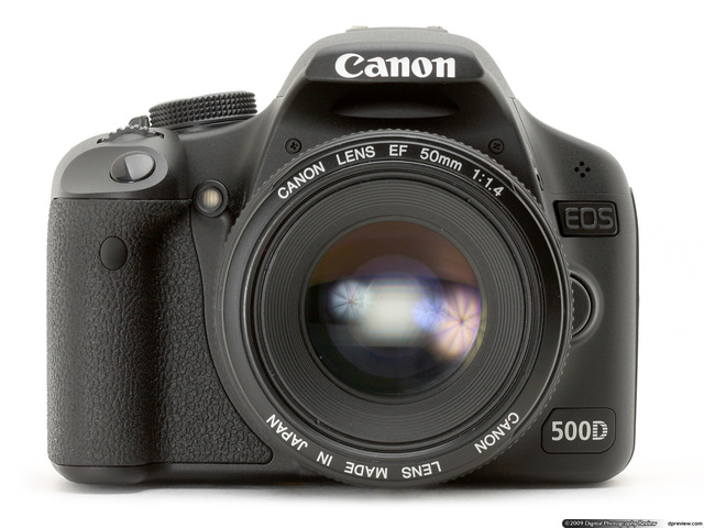 CANON REBEL 500D.