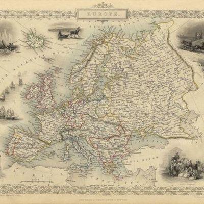 ประวัติศาสตร์ยุโรป timeline