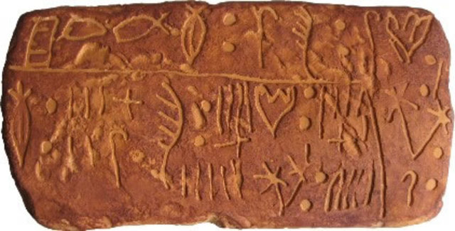Linear A script Writing invented