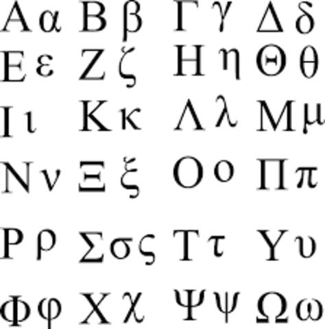 Invention Of Greek Alphabet
