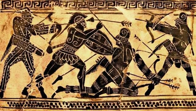 Ionian Revolt defeated by Persians