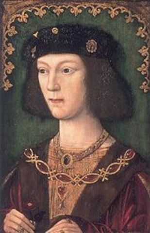Henry's First Marrage and Coronation