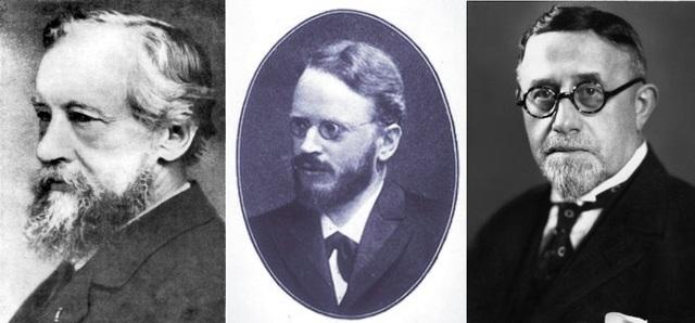 Carl Correns, Hugo De Vries & Erich Von Tschermak-Seysenegg