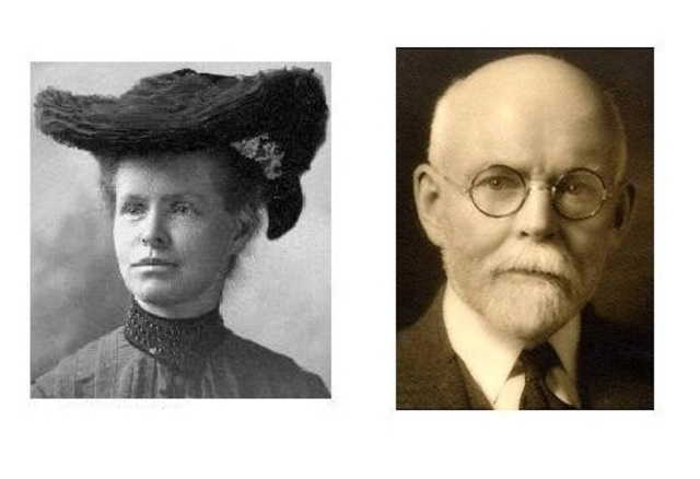 Edmund B. Wilson & Nettie María Stevens