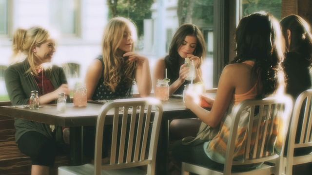 Alison Gives the Girls Friendship Bracelets