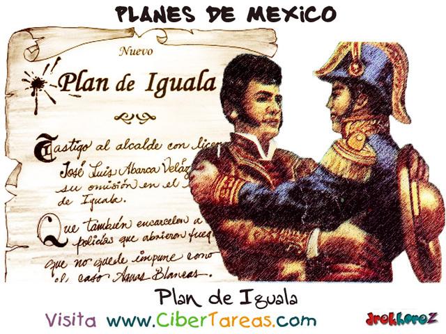 Plan de iguala  fue firmado el plan de iguala