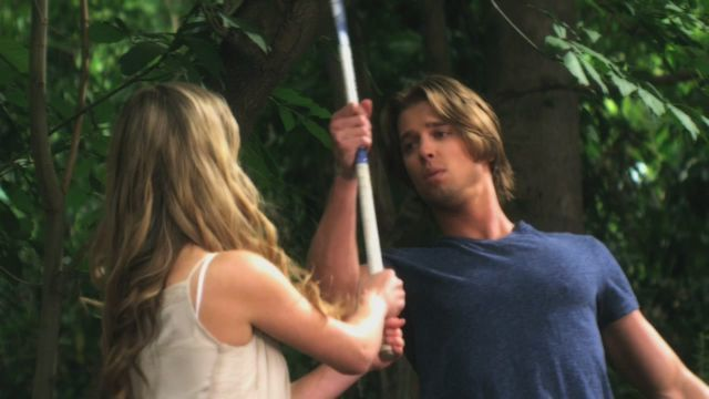 Alison & Jason Fight With Spencer's Field Hockey Stick