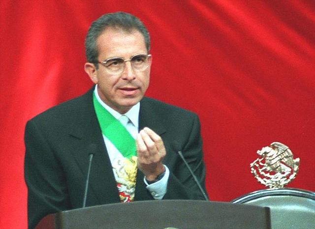 Ernesto Zedillo.