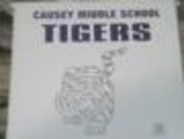 Started middle school at Causey Middle