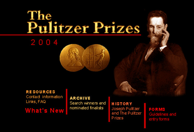 Lee wins the Pulizter Prize