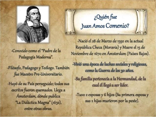 Juan Amos Comenio - Didáctica Magna -